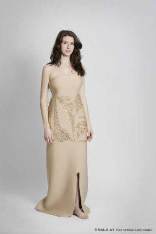 Lasergeschnittenes Kleid