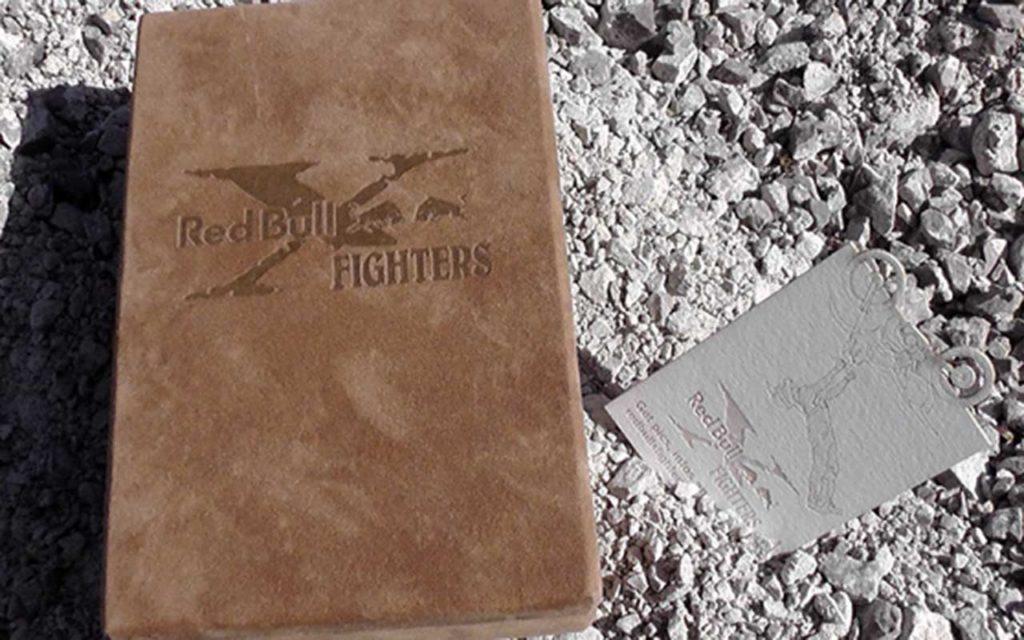 Red Bull X Fighters Visitenkarten