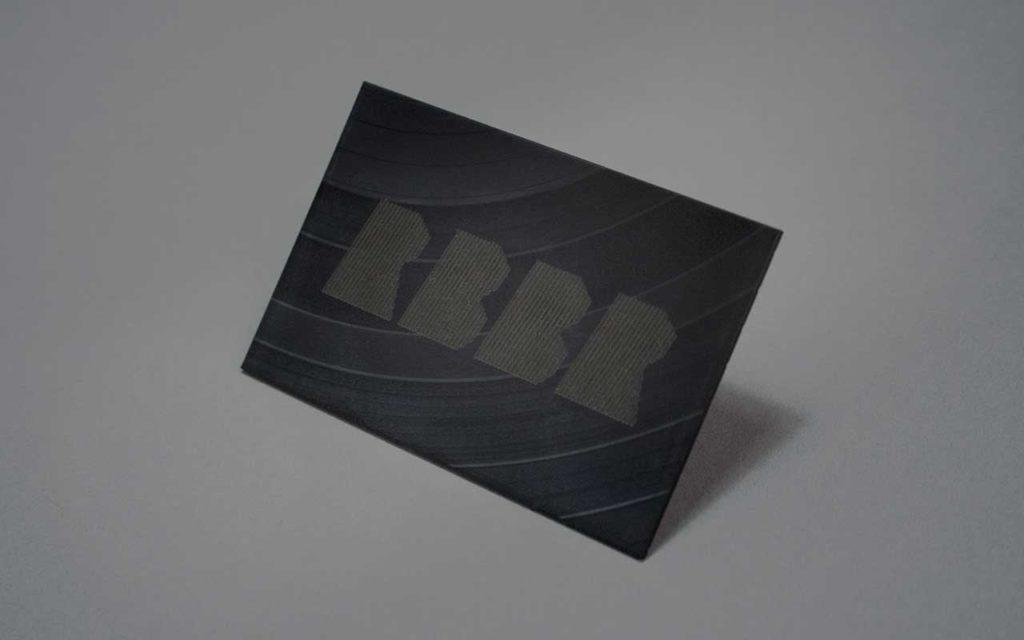 Gravur auf Vinyl
