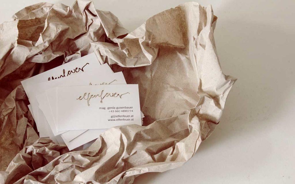 Verpackung aus Papier