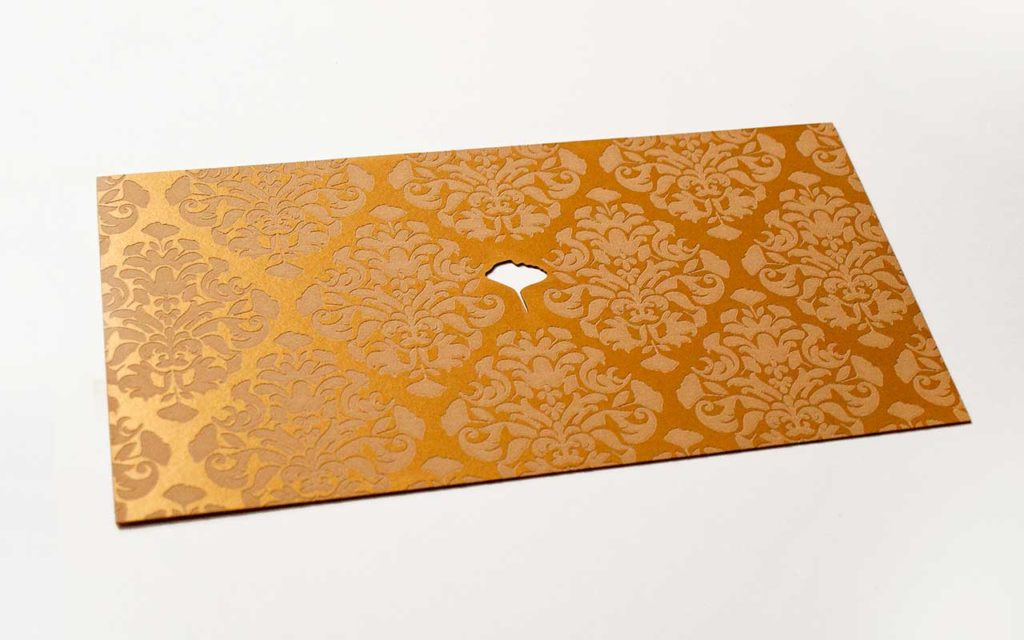 Papierkarte Weihachten