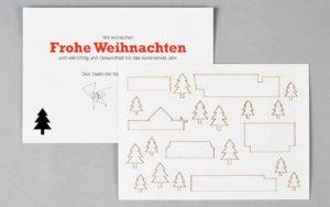 Weihnachtskarte Für Architekten