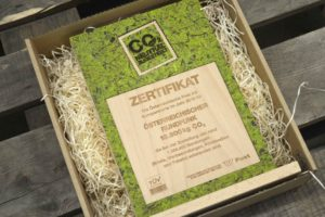 Zertifikat Aus Holz