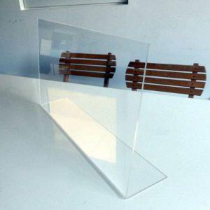 Hygieneschutz aus Acrylglas - Spuckschutz