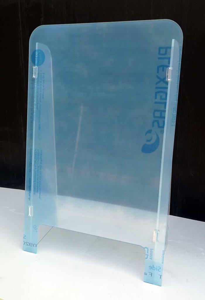 hygieneschutzwand aus Plexiglas von Vorne