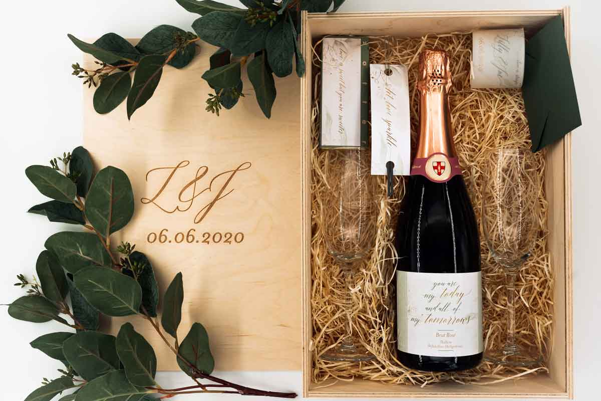 Hochzeitsbox personalisiert
