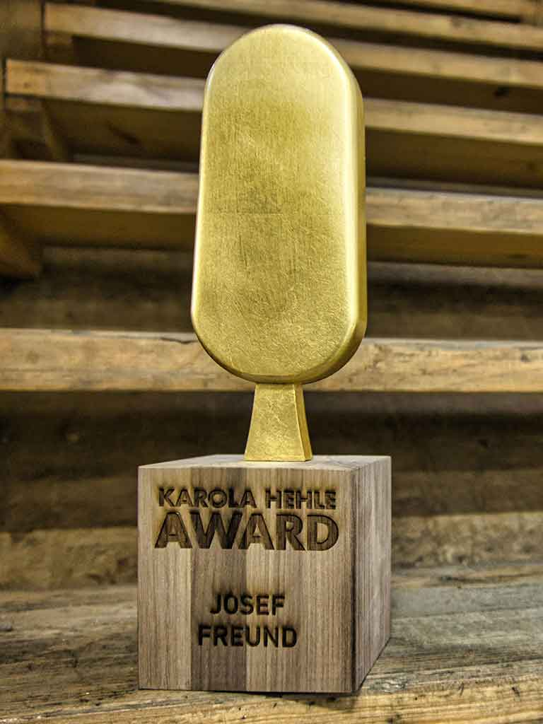 Award Aus Holz Und 3D Druck